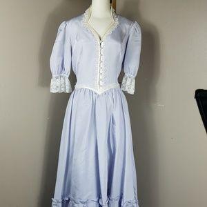 Gunne Sax Lilac Bridesmaid dress